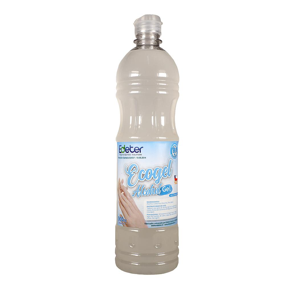 ECOGEL  900CC  Jabon alcohol gel desinfectante